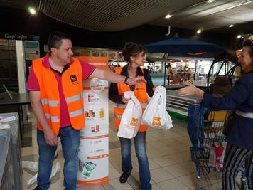 Partenariat avec la Banque Alimentaire