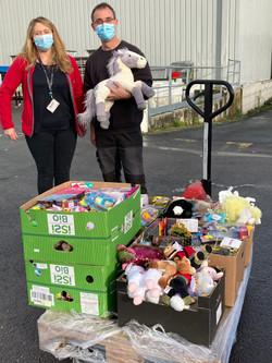 collecte jouets Auchan