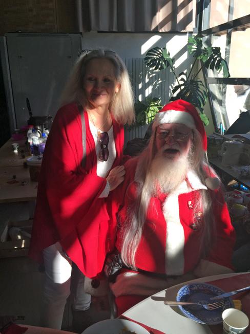 Le Père Noël est arrivé