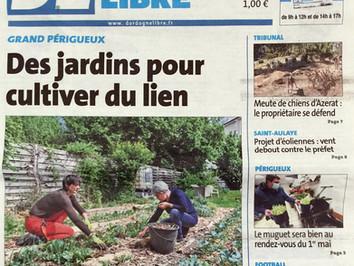 Un jardin solidaire pour créer du lien
