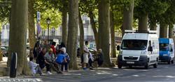 Distribution de rue