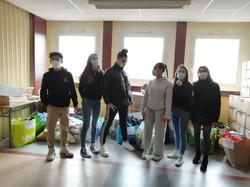 Collecte de vêtements Lycée Picasso