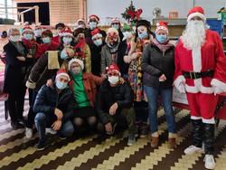 L'équipe du samedi fête Noël