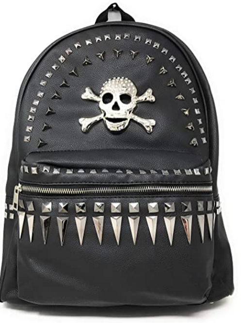 Texas West Women's Multi-way Sugar Skull Concealed Carry Top Handle Backpack Pu