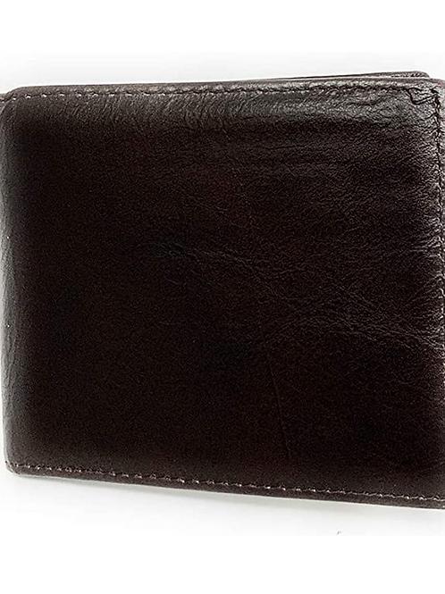 Texas West Premium Genuine Plain Leather Men's Short Bifold Wallets in 3 colors
