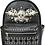 Thumbnail: Western Women's Angel Wings Sugar Skull Concealed Carry Top Handle Backpack