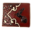 Thumbnail: Men's Leather Rooster Floral Tooled Laser Cut Lone Star Short Wallet