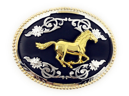 Texas West Western Cowboy/Cowgirl Texas Premium Oval Buckle Head