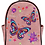 Thumbnail: Western Women's Butterfly Floral Carry Top Handle Backpack in 3 colors