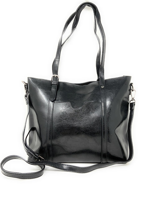 Texas West Handbags for Women Large Designer Tote bag Bucket Purse Leather