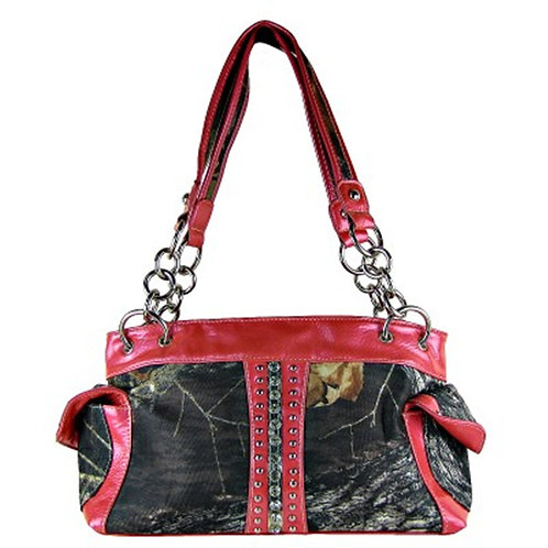 HOT SALE Western Rhinestone Camou Handbag With Cross/Buckle/Pistol Collections
