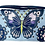 Thumbnail: Texas West Western Rhinestone Embroidery Butterfly Floral Crossbody Small Pouch