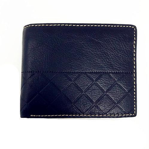 Premium Genuine Leather Men's Short Bifold Wallets in Multi Color