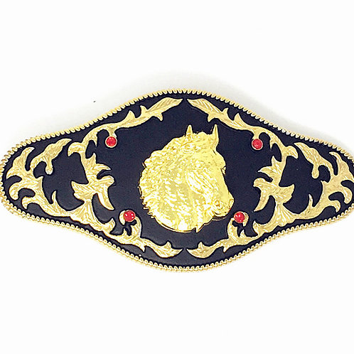 Texas West Western Cowboy/Cowgirl Premium Buckle Head