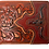 Thumbnail: Men's Leather Longhorn Floral Tooled Laser Cut Lone Star Short Wallet in 8 colo