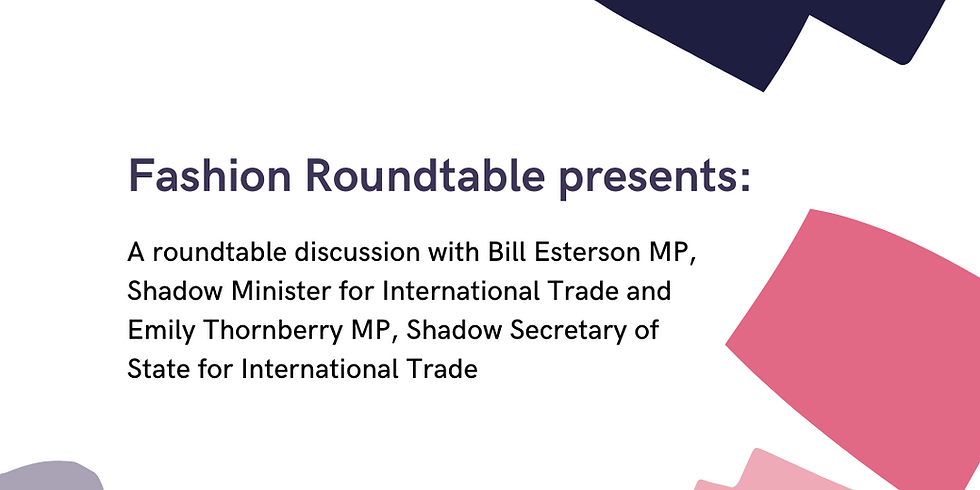 Roundtable with Emily Thornberry MP & Bill Esterson MP
