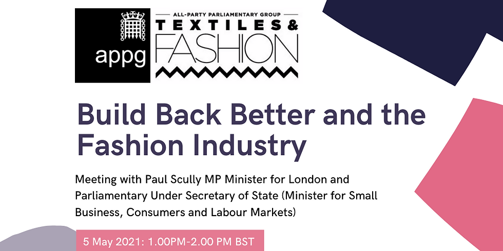 Build Back Better and the Fashion Industry