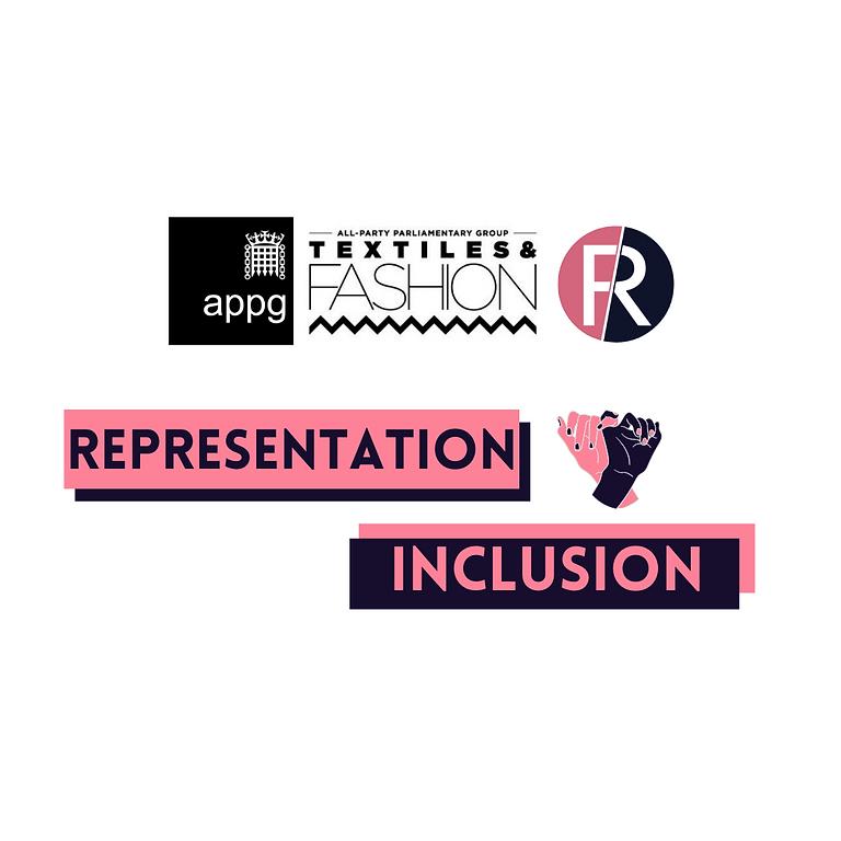 Representation & Inclusion in Fashion evidence session - fashion in education