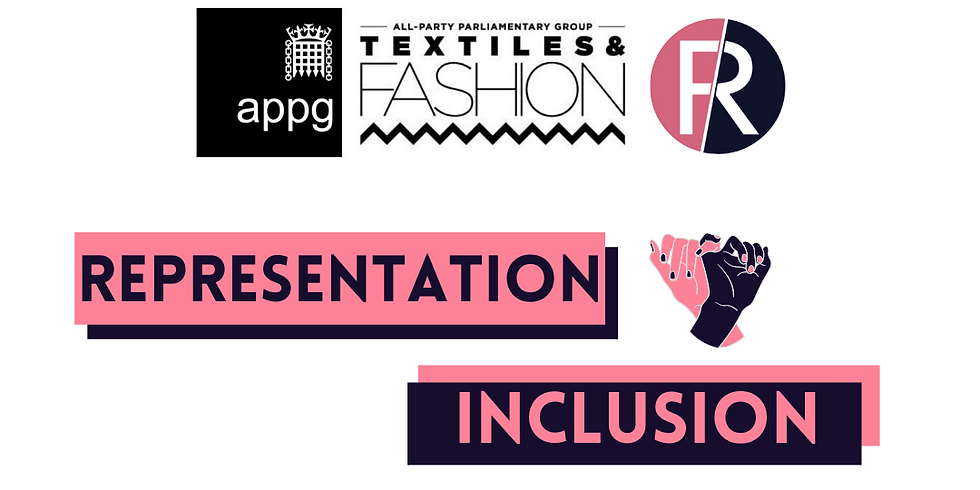Representation & Inclusion in Fashion Report Meeting