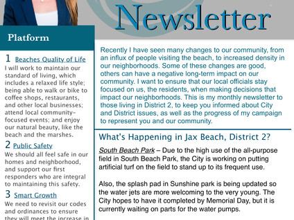 The May 2018 Newsletter is Here!