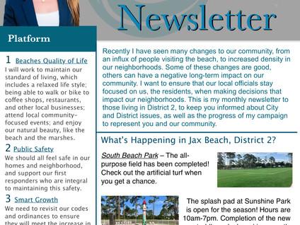 June's newsletter