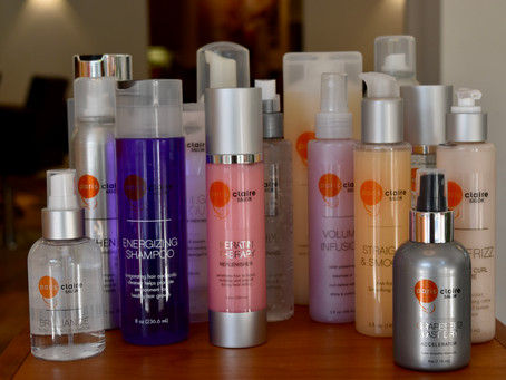 What's New at Paris Claire Salon in Coral Gables: Signature Hair Care Product Line Has Arrived!