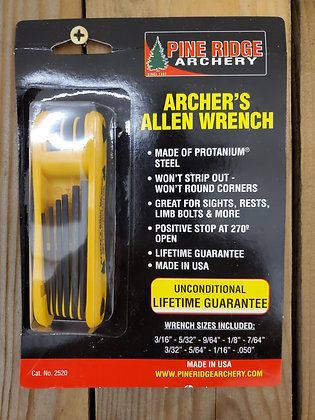 Pine Ridge Archery Allen Wrench Set with Holster