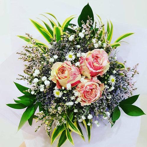 Rose Bouquet (3 Stalks)
