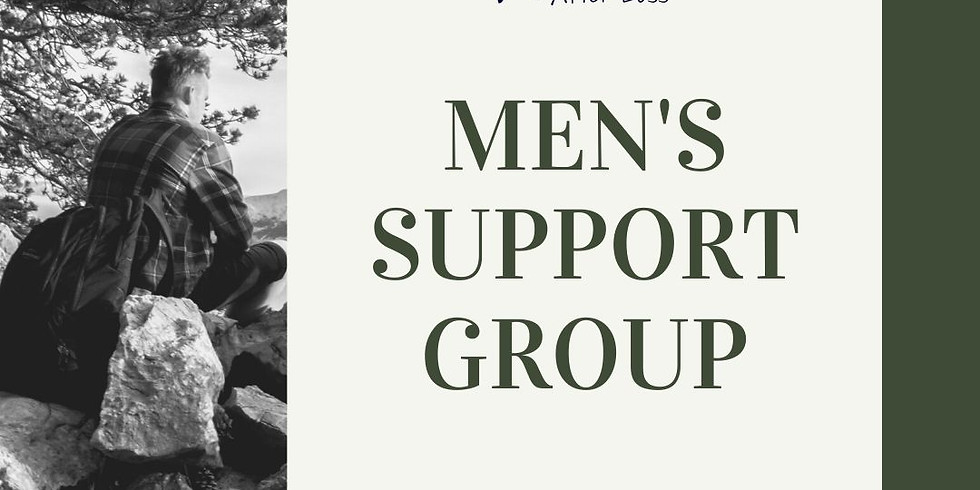 Virtual Group Session: Men's Support Group (4/5/21)
