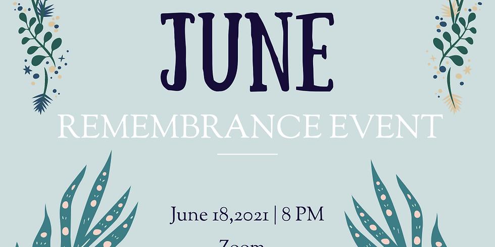 June Remembrance Event 6/18/2021