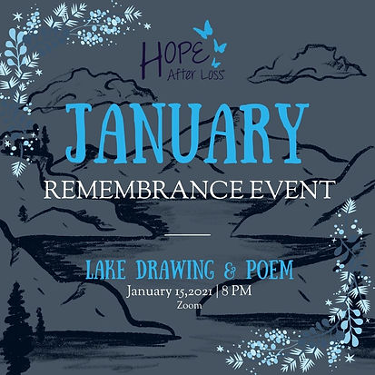 January remembrance event_ Lake Drawing