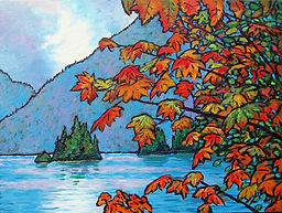 Vine Maples, Islet, Fiord, Port Alice