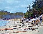 Calvert Island, Hakai, West Beach, Beach combers, Driftwood