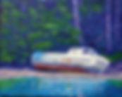 Drake Iland, Derelict, Boat, Montaro, Quatsino, Port Alice