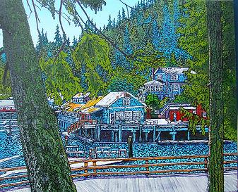 Telegraph Cove, Boardwalk, Vancouver Island