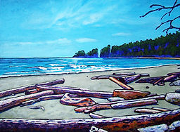 Driftwood, Long Beach, Tofino, Vancouver Island
