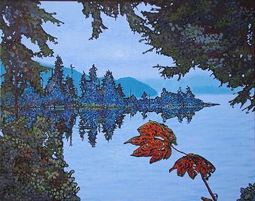 Maple leaves, Port Alice