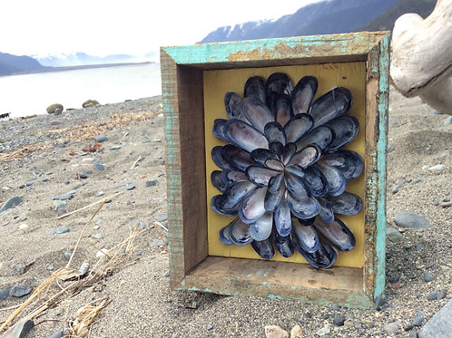 Mussel Shell Flower