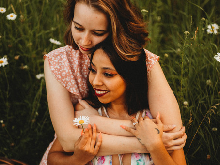 LOVE IS LOVE -  Whitefish, Montana Engagement Session