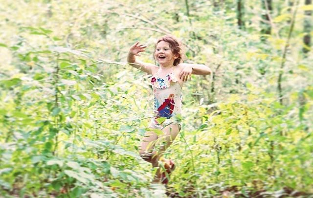 Childhood in the forest. ❤️_._._