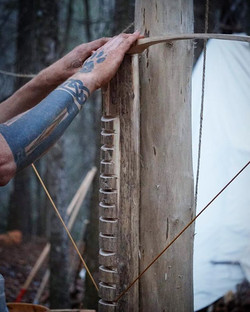 Tillering the bow