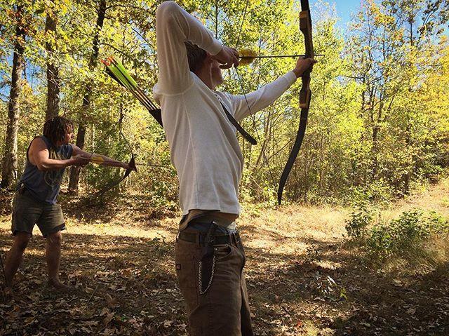 Instinctive archery..