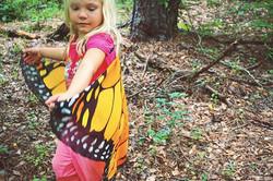 ___#childhoodunleashed #rewildchildhood #wildlings #monarchbutterfly #schoolofthegreenwood