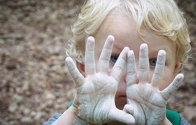 Clay hands..._._._