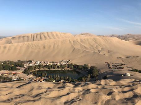 HUACACHINA - A DESERT OASIS