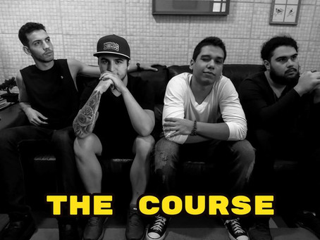 Como Gravar um EP - Banda The Course produz seu primeiro material em Casa