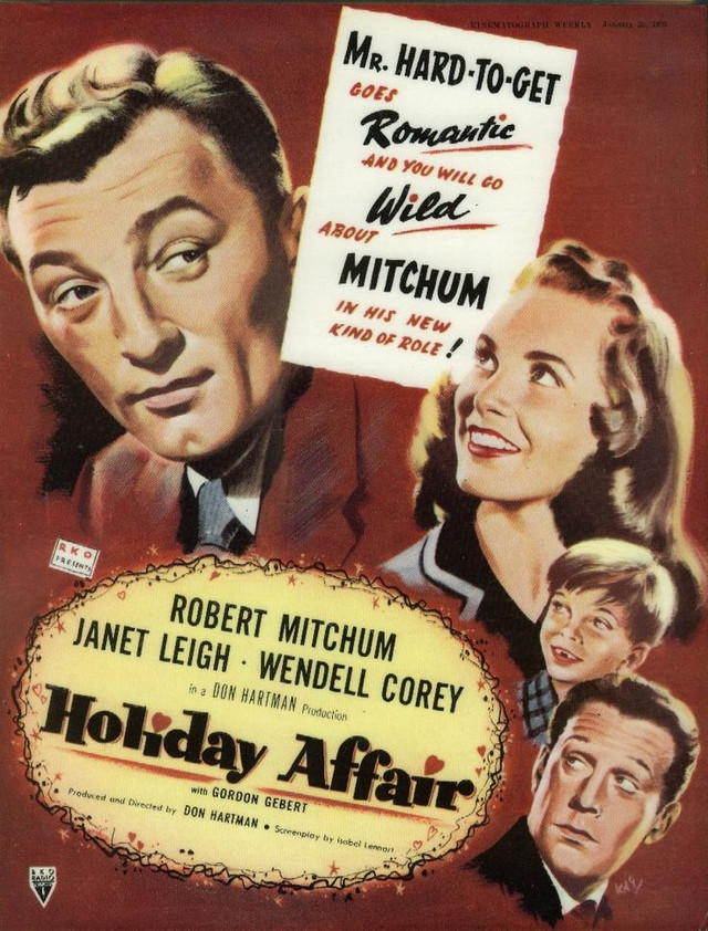 VCH Christmas Movie Review # 1—Holiday Affair
