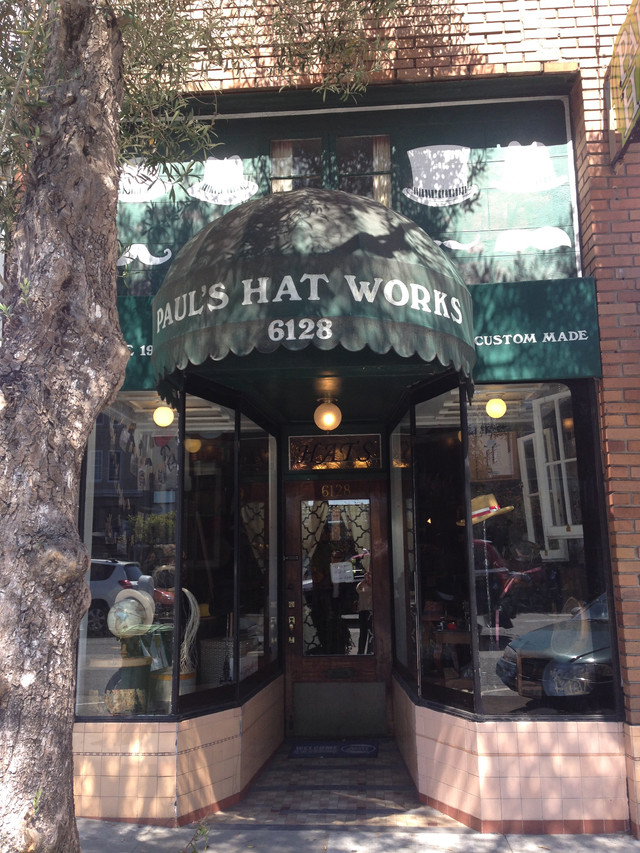 VCH Visits Paul's Hat Works in San  Francisco