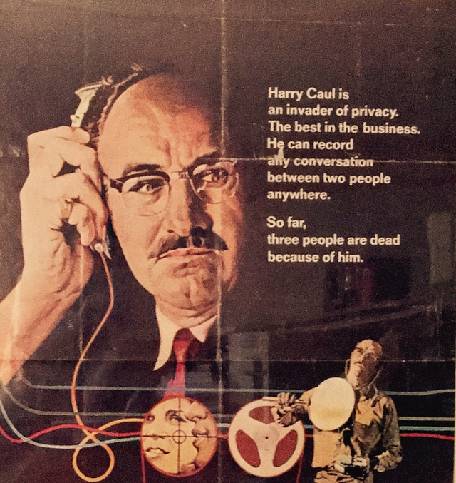 "VCH Finds—1974 Movie Poster from ""The Conversation"""