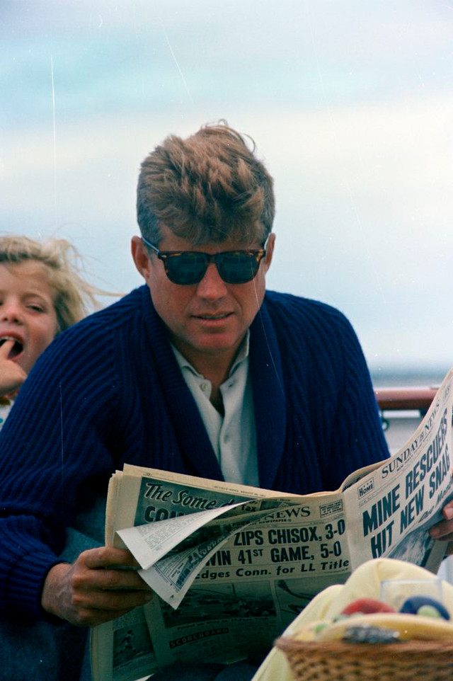 More on JFK's American Optical Saratoga Sunglasses—and Why We Love Them